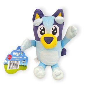 "Bluey Friends Starry Eyes Please Face Plush Blue Heeler Dog Stuffed Animal 8"""