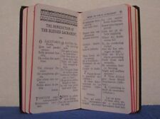 VINTAGE 1937 OFFICIAL HOLY NAME POCKET MANUAL LATIN - ENGLISH POCKET PRAYER BOOK