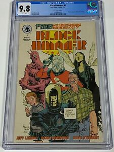 BLACK HAMMER #1 CGC 9.8 Dark Horse Comics 7/17 Justice League 1 Homage Cover