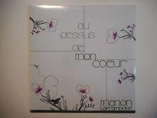 MANON LAFRAMBOISE : AU DESSUS DE MON COEUR [ CD SINGLE NEUF PORT GRATUIT ]