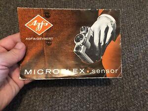 Agfa Microflex Owners Manual Super 8 Camera