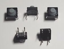 Momentary Tactile Push - Soft Button Switch - 5 Pack - 8mm Square - Free UK P&P