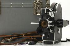 [MINT Overholed] Bolex H16 Reflex REX-4 16mm Movie Camera w/Case Lens From Japan