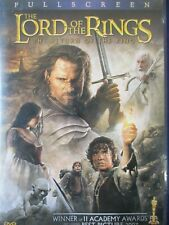 The Lord of the Rings: The Return of the King (Dvd, 2004, Full Screen)