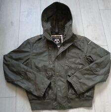"Napapijri ""L"" Hooded Bomber Jacket Mens Jacket"