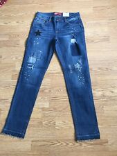 NWT Girls Arizona adj,   skinny leg skinny jeans blue Sz, 14 regular retail  $36