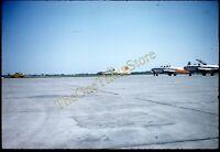 Northrop T-38 Jet Plane Randolph Air Force Bass 1960s 35mm Slide Vtg Kodachrome