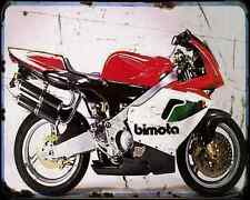Bimota 500 V Due A4 Metal Sign Motorbike Vintage Aged