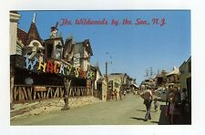 WILDWOOD BY THE SEA NJ Hunt's Pier WHACKY SHACK Bill Tracy dark ride circa 1965