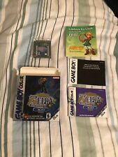 Zelda Oracle Of Ages Nintendo Gameboy Colour Boxed Game