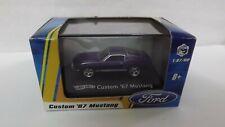 2009 Hotwheels Custom '67 Mustang 1/87 Scale Purple In Unopened Box