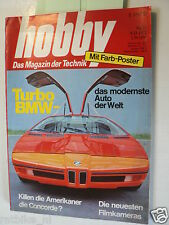 HOBBY 1972-23,BMW TURBO CAR,ZWEEFVLIEGEN,DRAGON DADDY BIKE,RIVA BOATS,FORD,OPEL,