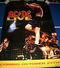 AC/DC LIve October 27th Poster 1992 Vintage ACDC Poster