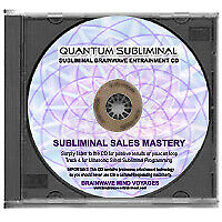 SUBLIMINAL SALES CD SALESMAN SECRET NLP HYPNOSIS SELLS SELLING ANYONE, ANYTHING!