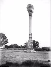 Old Photo. Istanbul, Turkey.  Column of Marcian