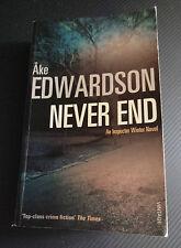 Never End ~ Ake Edwardson Pb 2007 #2 Chief Inspector Winter Series Scandinoir