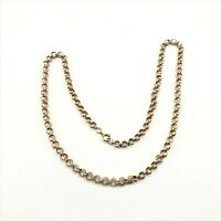 Vintage 1/20 12k gold filled chain 25.5 inches 30.8 grams