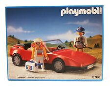 1992 PLAYMOBIL Ref. 3708 Red sports car tennis FACTORY SEALED excel cond. Spain