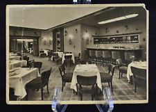 Postcard Central Hotel Berlin Restaurant Germany Posted 1941 BW RPPC
