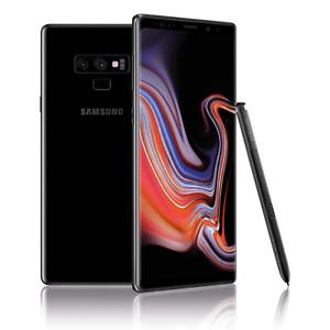 New Samsung Galaxy Note 9 SM-N960 512GB - Midnight Black (Unlocked) (Single SIM)