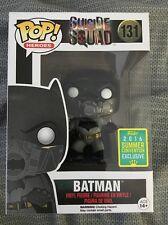 Funko Pop Suicide Squad Underwater Batman 2016 Convention Exclusive