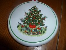 "Pfaltzgraff Ceramic Cookie Stamp ""Cookie For Santa"""