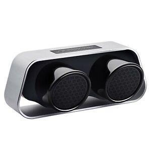 BNIB Porsche Design 911 Speaker Silver Premium Bluetooth High-End Speaker