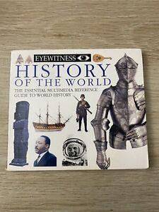 1995 DK Eyewitness History of the World encyclopedia CD-ROM