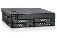 """Icydock MB604SPO-B ToughArmor 4 x 2.5"""" SAS & SATA SSD/HDD  Backplane Cage"""