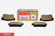 Genuine Honda OEM Rear Brake Pad Kit Fits: 1991-2015 (Multiple Models)