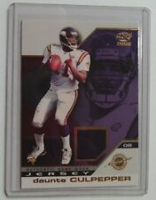 DAUNTE CULPEPPER - 2002 Pacific Game Worn Jersey Card #23 - MINNESOTA VIKINGS