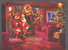 Jersey-Christmas 2016 min sheet mnh -Father Christmas