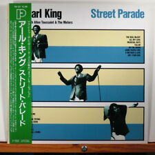 EARL KING/ ALLEN TOUSSAINT/ METERS - Street Parade < Japan 1987 LP NM w/ OBI, in