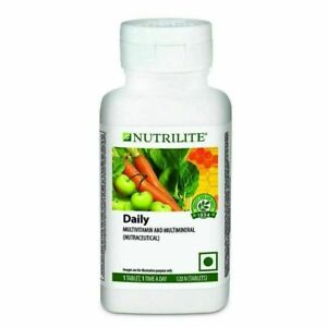 NUTRILITE AMWAY DAILY 120 TABS SUPPORTS METABOLISM & NERVOUS SYSTEM MULTIVITAMIN