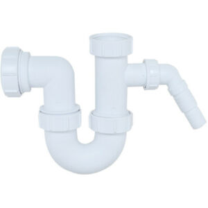 Säuber 1 Bowl Kitchen Sink Waste Pipe Kit Easy To Fit Durable