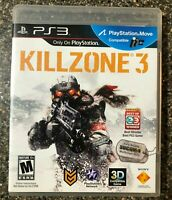 Killzone 3 (Sony PlayStation 3 PS3, 2011) Complete w/ Manual - Tested Working
