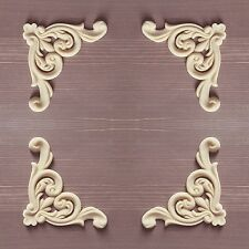 Large Set of 4 Shabby Chic Furniture Corners Resin appliqué Mouldings ONLAYS