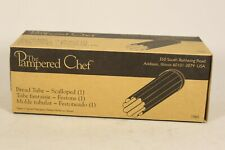 Pampered Chef Bread Tube Scalloped #1565 NIB New in Box
