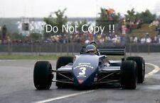 Michele Alboreto Tyrell 011 CANADIAN GRAND PRIX 1982 Fotografia