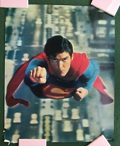 SUPERMAN The Movie 1978 DC Comics Proctor & Gamble poster premium give-a-way l1