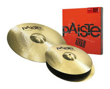 PAISTE 101 Piatto Set 14 pollici HiHat, 18 pollici Crash-Ride (NUOVO)