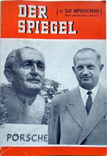 1962 – DER SPIEGEL, LA STORIA DELLA VOLKSWAGEN – PORSCHE AUTOMOBILI GERMANIA