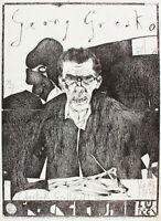 Horst Janssen ( 1929 - 1995) - Gresko (Plakat) - Offset - Handsigniert - 1967