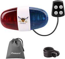 Bicycle Police Sound Light Bike LED Light Electric Horn Siren Horn Bell