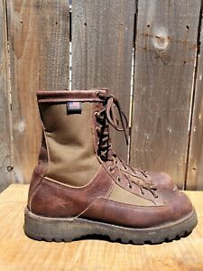 Danner Sierra 8in #63100 200G Brown Leather Goretex Boots Men's sz 8.5