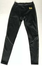 Under Armour Black Base 3.0 Tights Sz Men's Small Fleece Lined