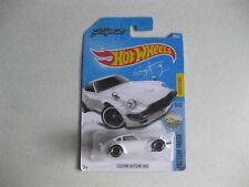 Hot Wheels Blanco Personalizado Datsun 240Z no 76 Track Stars Por Mattel