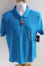 Fila Sport Wicking Golf NEW NWT Men's Size M Medium Polo Shirt Top Turquoise