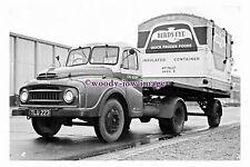 pu3072 - BR - Flatback Lorry No.CN 8309 E, with Birds Eye Load - photograph 6x4
