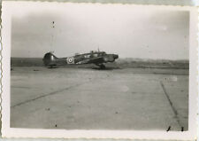 PHOTO ANCIENNE - VINTAGE SNAPSHOT - AVION MILITAIRE - MILITARY PLANE 15